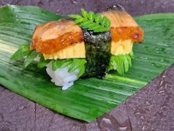鰻とだし巻き握り寿司(1貫).jpeg